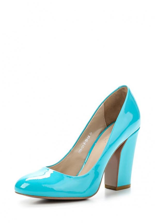 Туфли Calipso 608-01-F-33-LK голубые