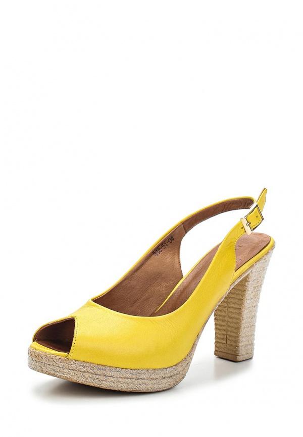 Босоножки Dino Ricci 838-51-04 жёлтые