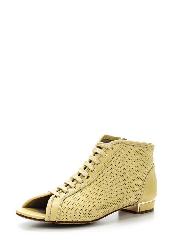 Ботинки Dino Ricci Trend 206-104-02 жёлтые