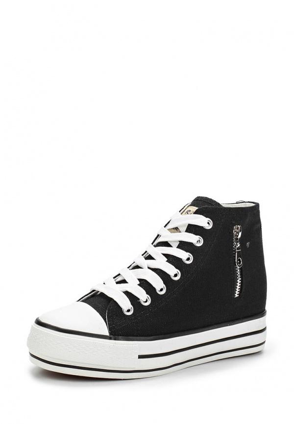 Кеды Dino Ricci Trend 248-01-01(T) чёрные