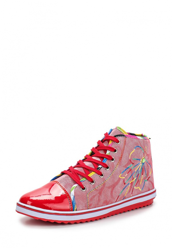 Кеды Dino Ricci Trend 254-01-01(T) красные