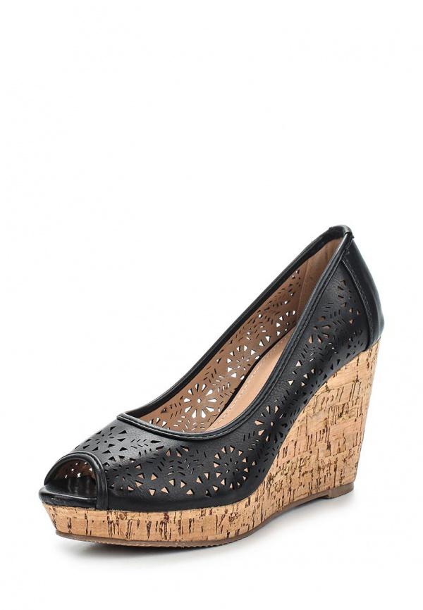 Туфли Ideal BL-6203 чёрные