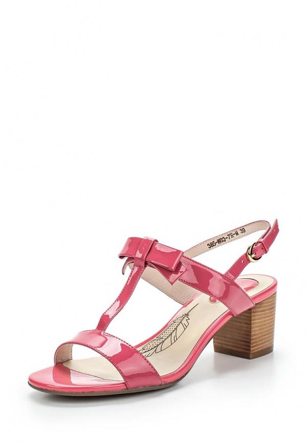 Босоножки Sinta 385-W83-7H-M розовые