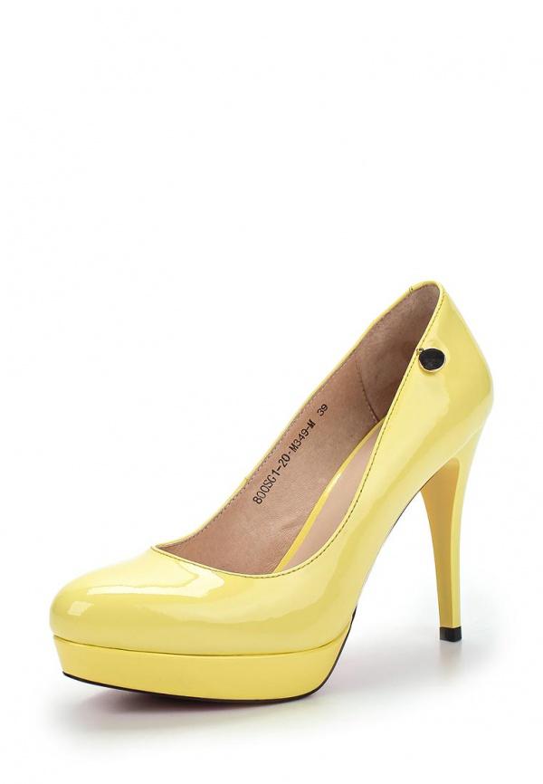 Туфли Sinta 800SG1-20-M349-M жёлтые