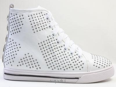 Ботинки Strange KAT35 013 K05 Ботинки жен Strange белые