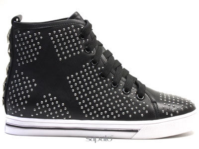 Ботинки Strange KAT35 013 K65 Ботинки жен Strange чёрные
