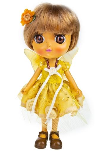 """Маленькие куклы Красный куб Фигурка """"Золотая феечка"""""""