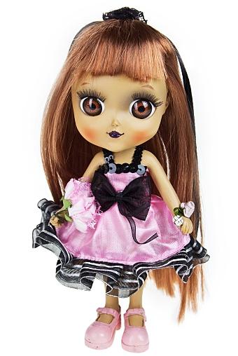 """Маленькие куклы Красный куб Фигурка """"Модная принцесса"""""""