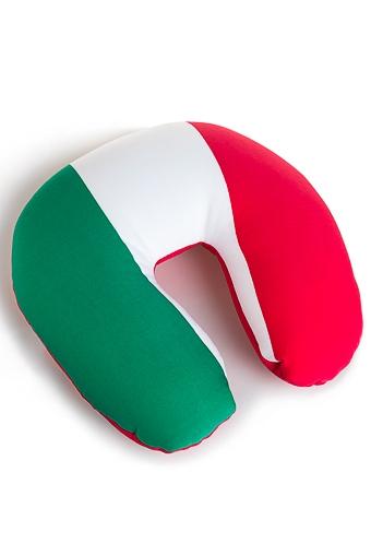 """Сувениры для мужчин Красный куб Подушка-подголовник """"Италия"""""""