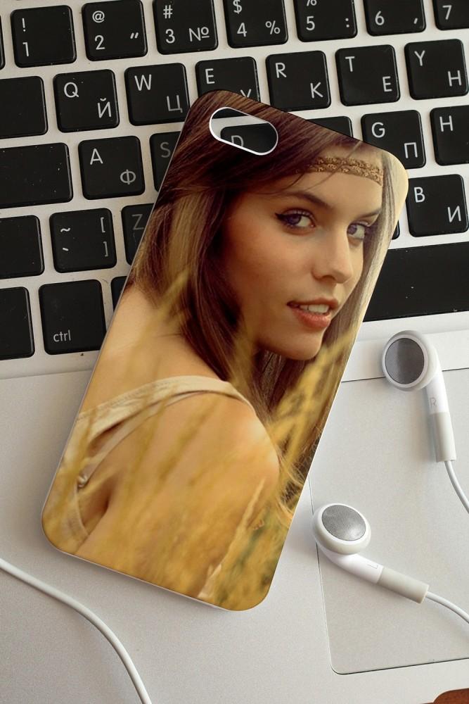 """Подарки маме Красный куб Чехол для iphone 5/5S с вашим фото """"Фото"""""""