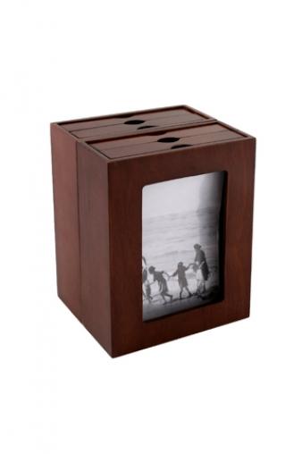 """Фото ящики Красный куб Ящик для 80 фото """"Книга"""""""