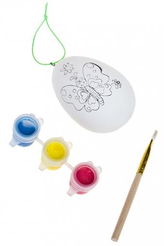 """Наборы для рисования Красный куб Набор для рисования """"Яйцо с бабочкой"""""""