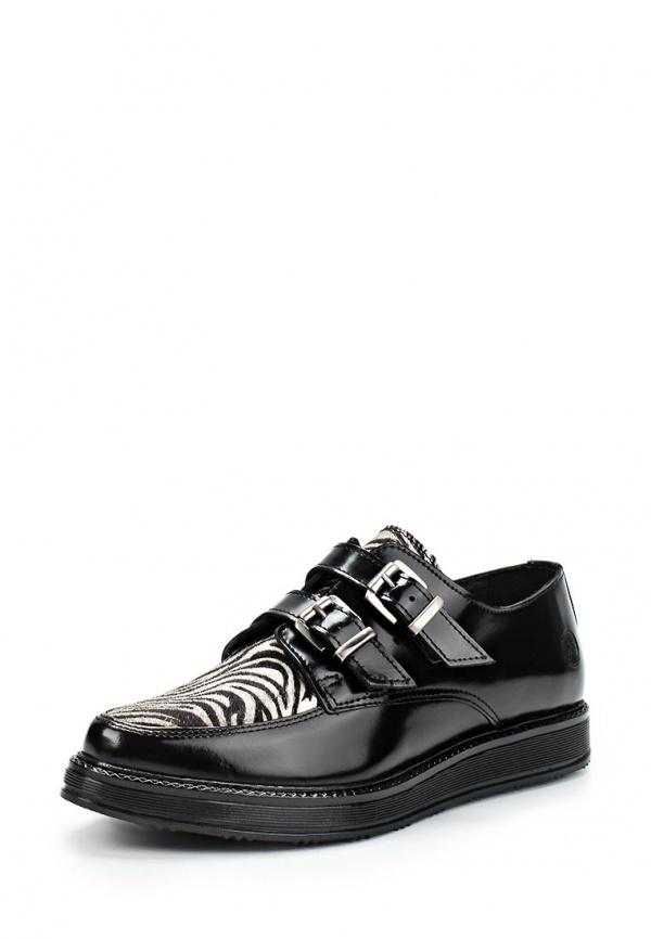 Ботинки Bronx 65176-F-1166 чёрные