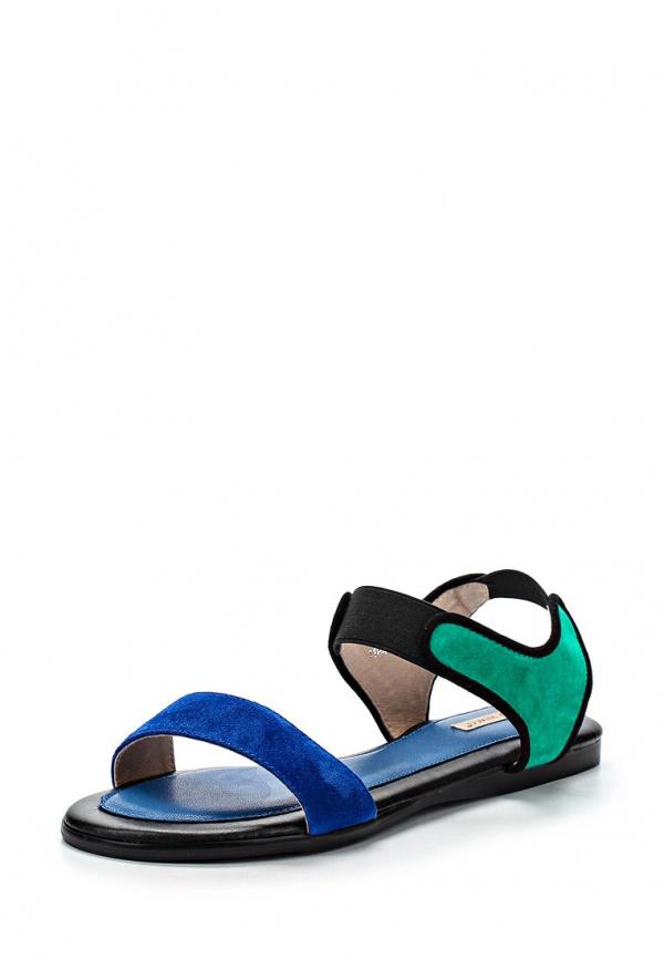 Сандалии Vitacci 11846 зеленые, синие, чёрные
