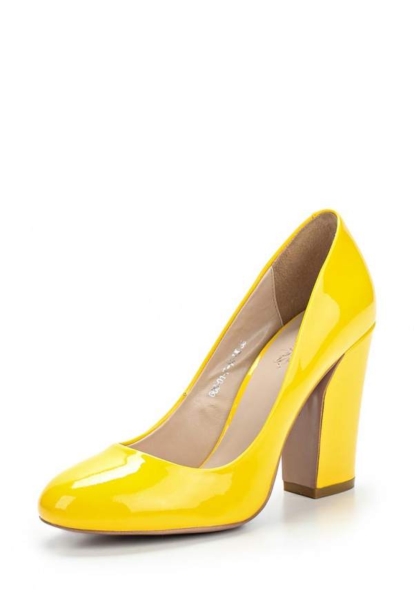 Туфли Calipso 608-01-F-14-LK жёлтые