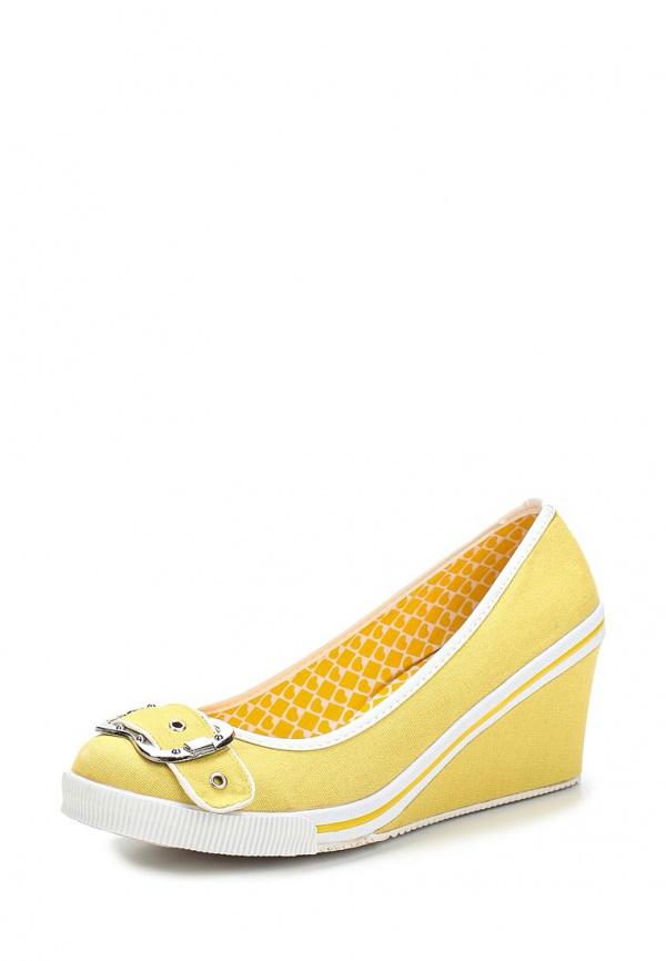 Туфли Doca 70385 жёлтые
