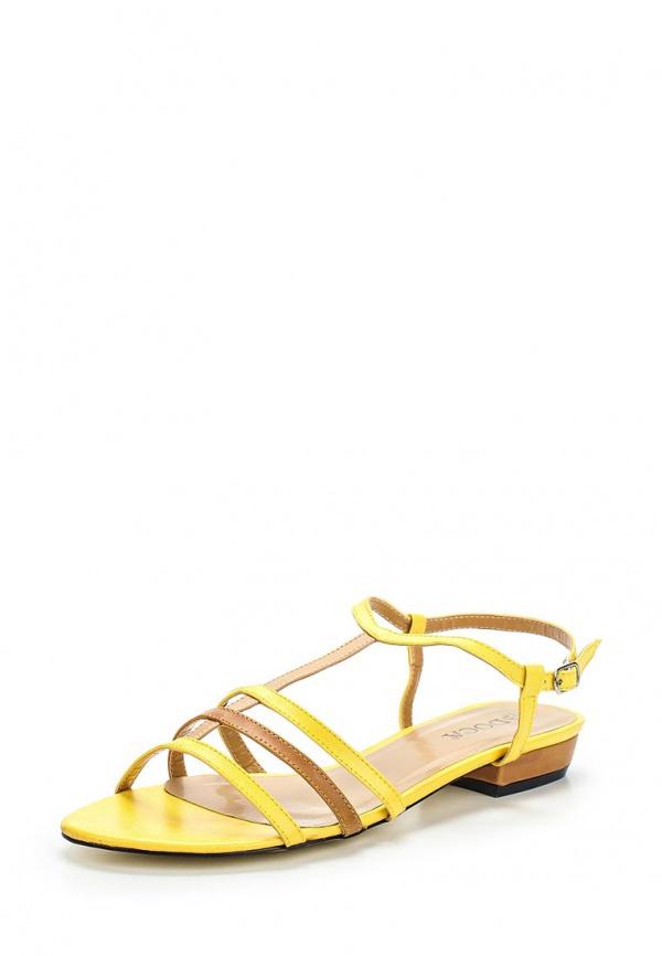 Сандалии Doca 70699 жёлтые