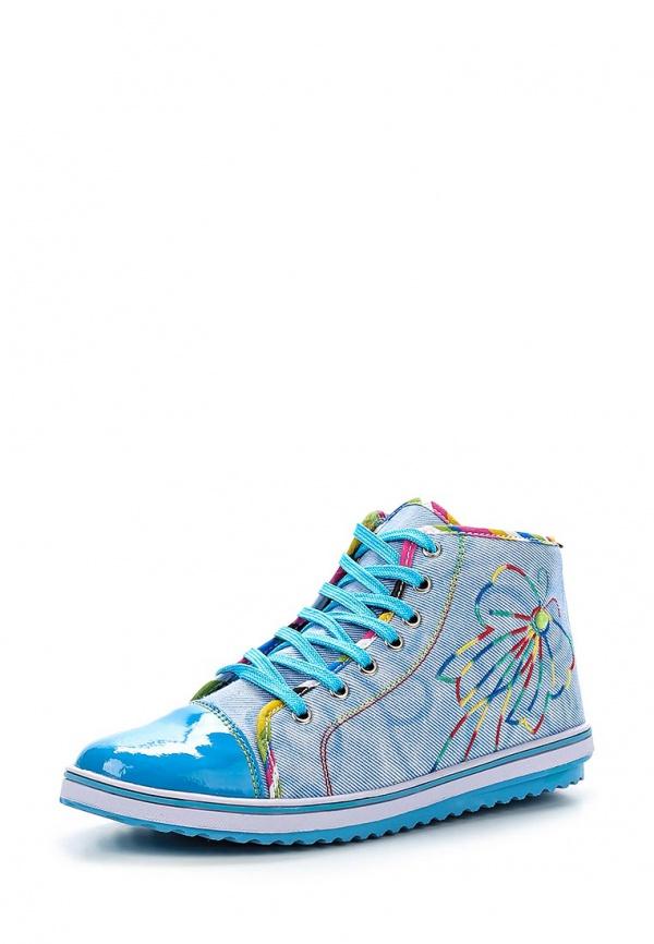 Кеды Dino Ricci Trend 254-01-02(T) голубые