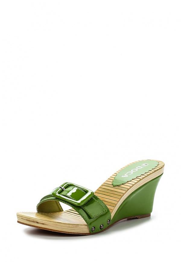 Сабо Doca 70371 зеленые