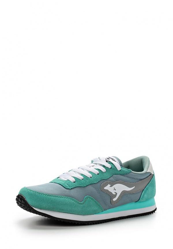 Кроссовки KangaROOS 47105 зеленые