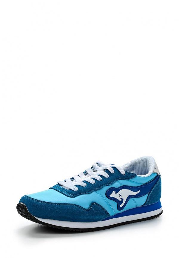 Кроссовки KangaROOS 47105 голубые, синие