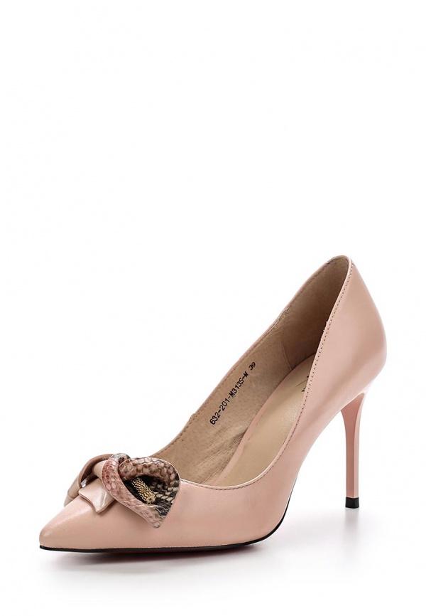 Туфли Sinta 632-201-M313S-M розовые