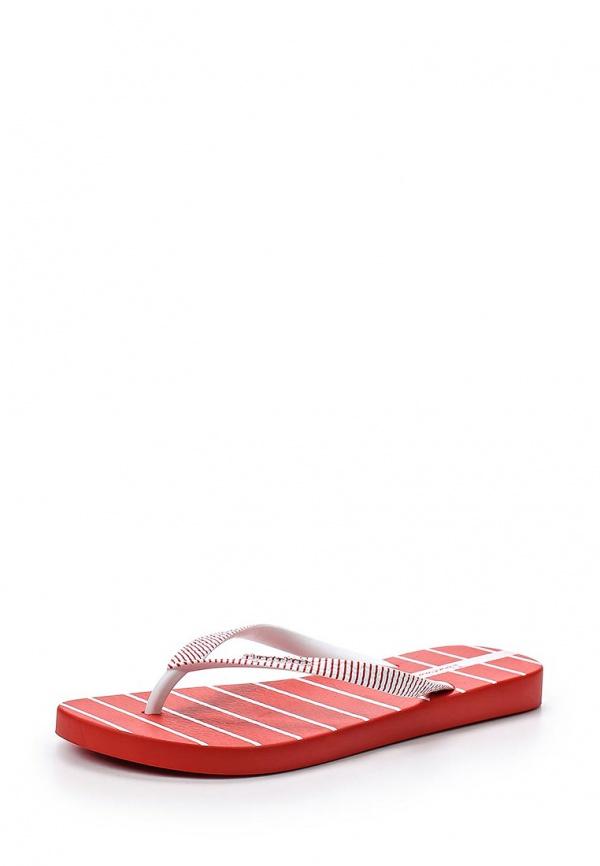 Сланцы Ipanema 81566-23813-A белые, красные