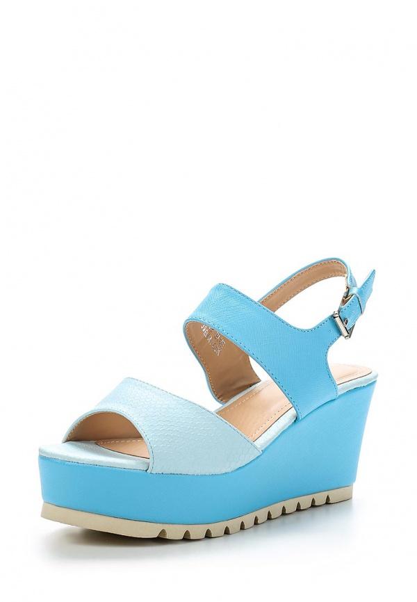 Босоножки Sergio Todzi R163 голубые