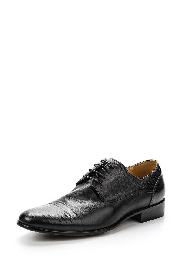 Туфли Zenden 110-27MV-013KK чёрные
