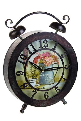 """Часы Настольные Красный куб Часы настольные """"Цветочная гамма"""""""
