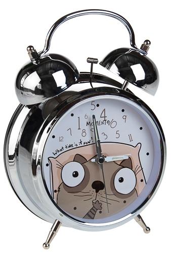 """Часы Будильник Красный куб Часы настольные """"Сколько времени"""""""