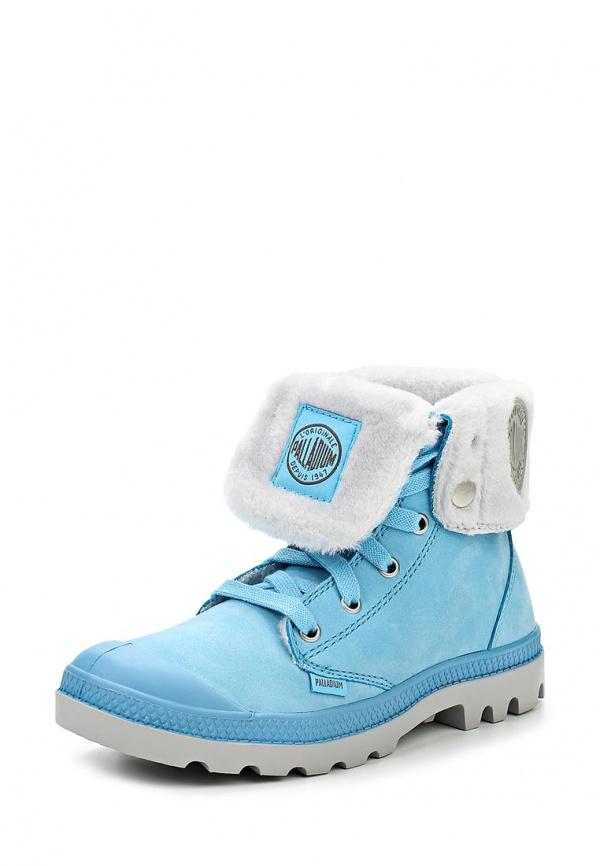 Ботинки Palladium 92610 голубые