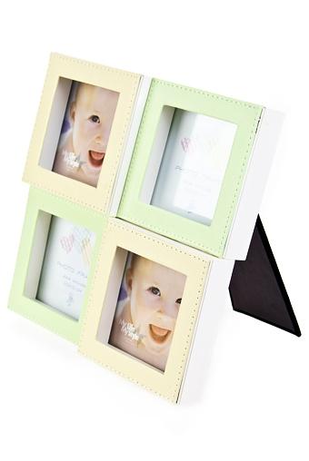 """Рамки для нескольких фото Красный куб Рамка для 4-х фото """"Моменты детства"""""""