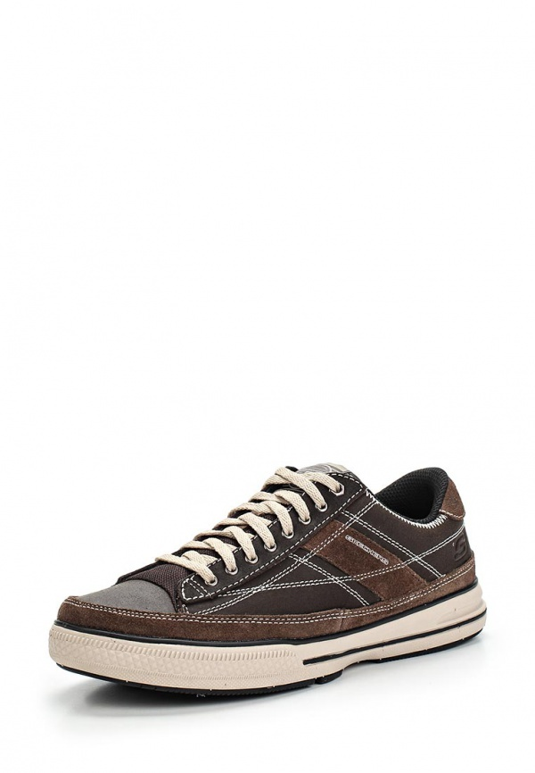 Кеды Skechers 51017 коричневые