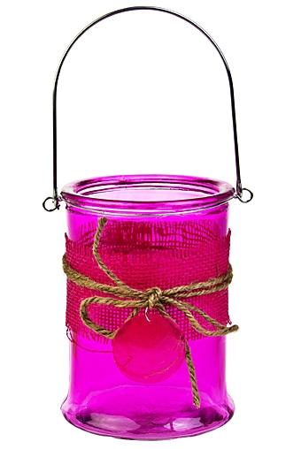 """Стеклянные вазы и кашпо Красный куб Ваза для цветов """"Прозрачность"""""""