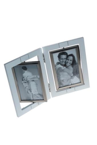 """Металлические фоторамки Красный куб Рамка для 4-х фото """"Счастливые моменты"""""""