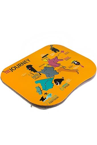 """Подставки для ноутбуков Красный куб Подставка для ноутбука с подушкой """"Путешествие"""""""