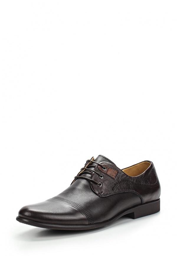 Туфли Zenden 110-27MV-002K коричневые