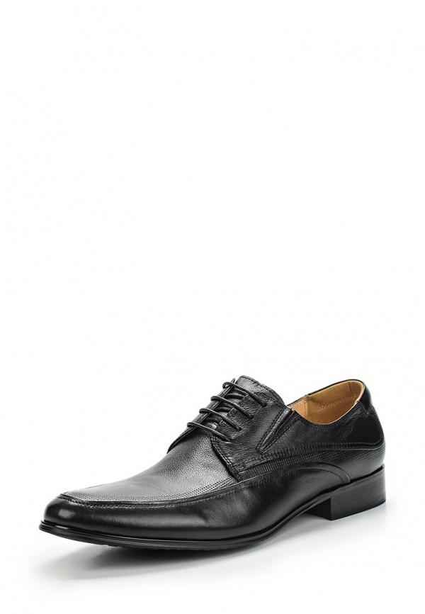 Туфли Zenden 110-27MV-003KK чёрные