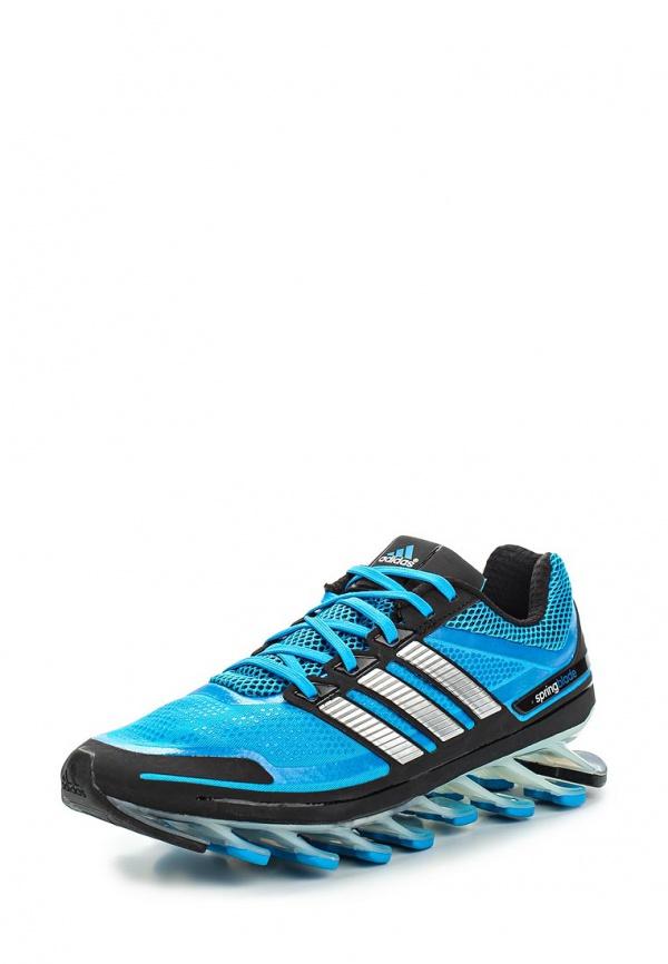 Кроссовки adidas Performance G98611 синие, чёрные