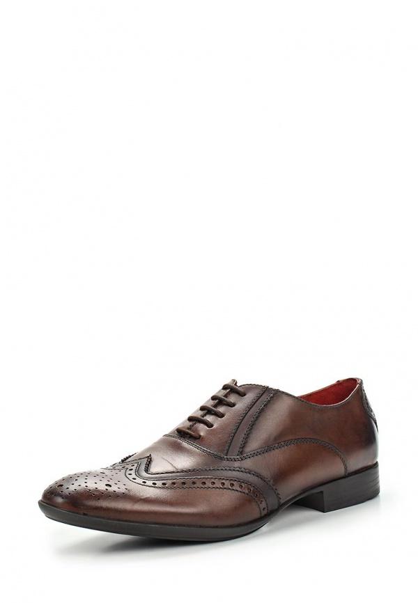 Туфли Base London QD03201 коричневые