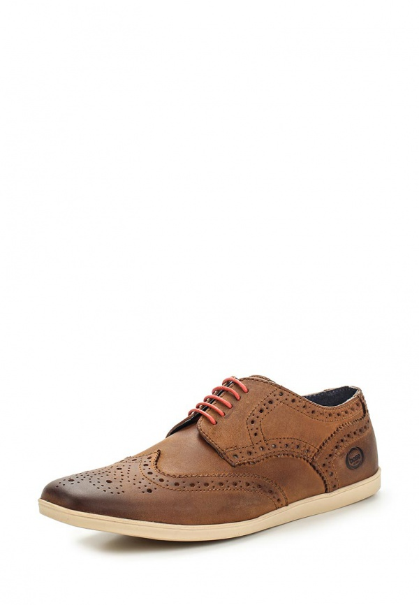 Туфли Base London PN01241 коричневые