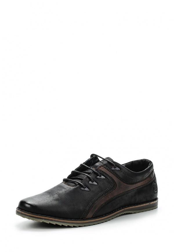 Туфли Instreet 116-25MK-060SK чёрные