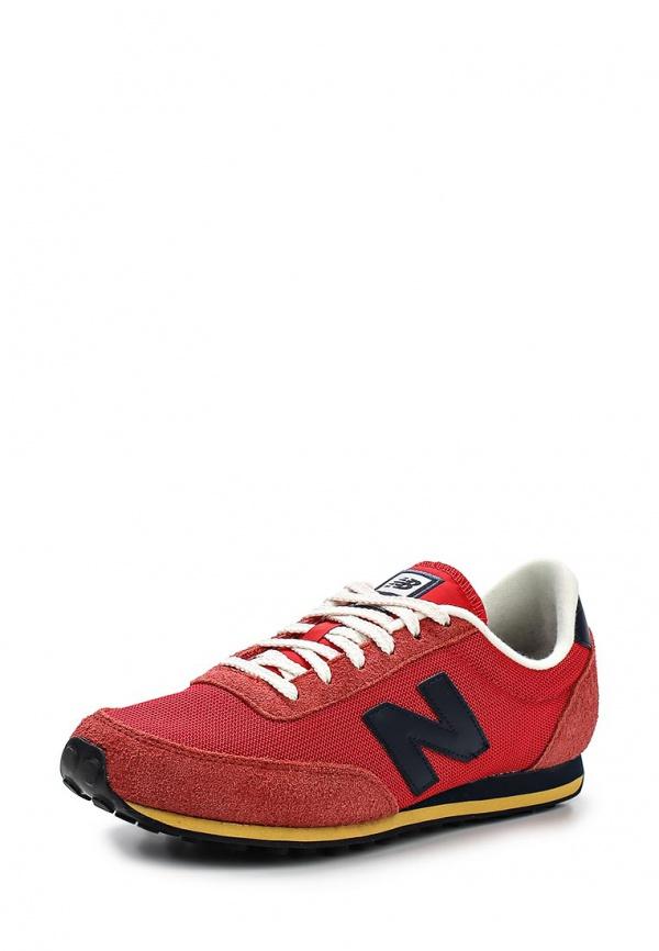 Кроссовки New Balance U410HRNY красные