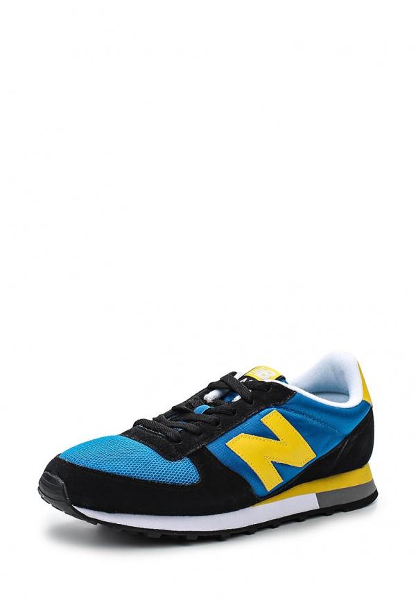Кроссовки New Balance U430SMKB голубые, чёрные