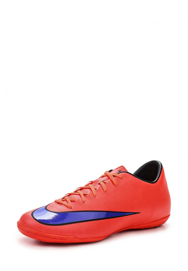 Бутсы зальные Nike 651635-650 красные