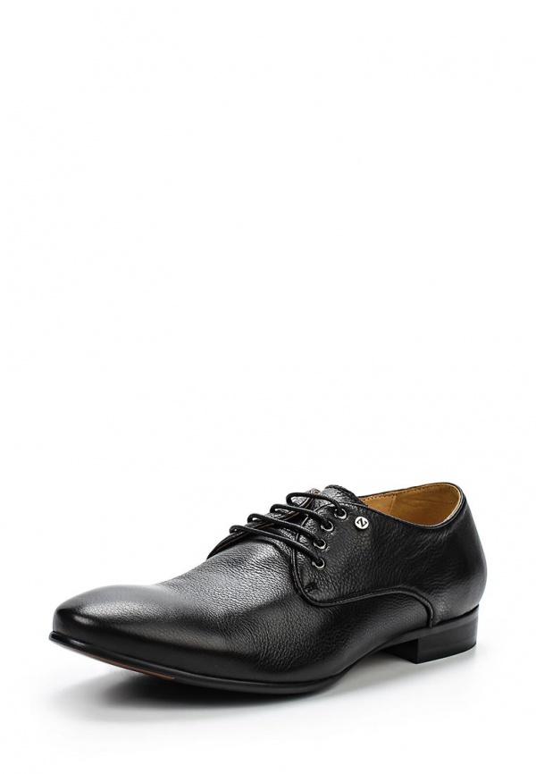 Туфли Zenden 110-25MV-065KK чёрные
