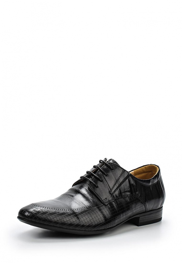 Туфли Zenden 110-27MV-012KK чёрные