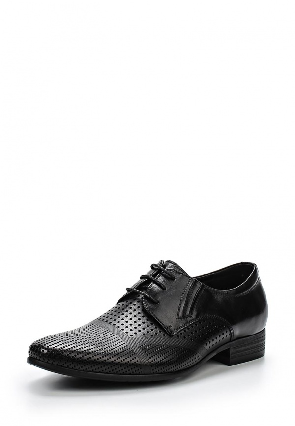 Туфли Zenden 140-27MK-028KK чёрные
