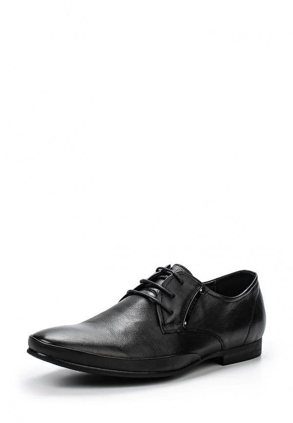 Туфли Zenden 58-27MK-077KK чёрные